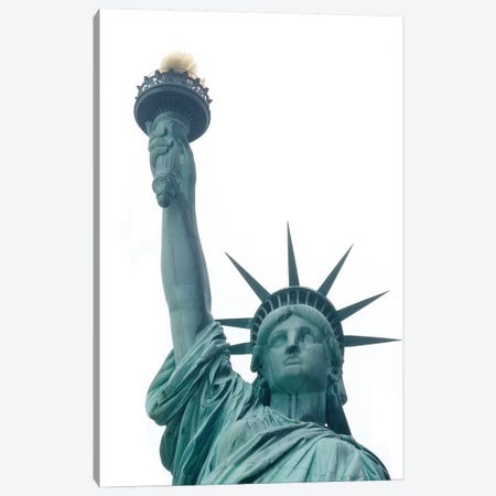 Statue Of Liberty Canvas Print #ECK411} by Erin Clark Canvas Art
