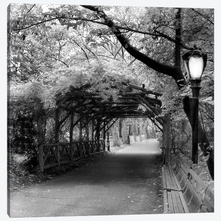 Central Park Pergola Canvas Print #ECK41} by Erin Clark Canvas Art