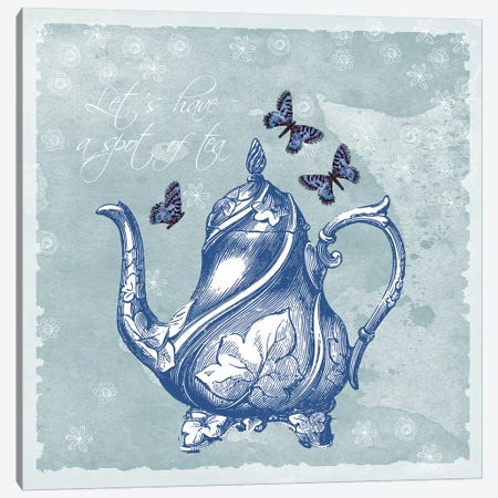 Teapot Canvas Print #ECK420} by Erin Clark Art Print