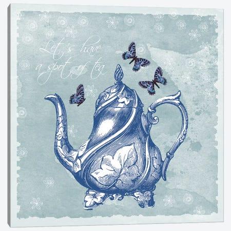 Teapot Canvas Print #ECK420} by Erin Clark Art Print