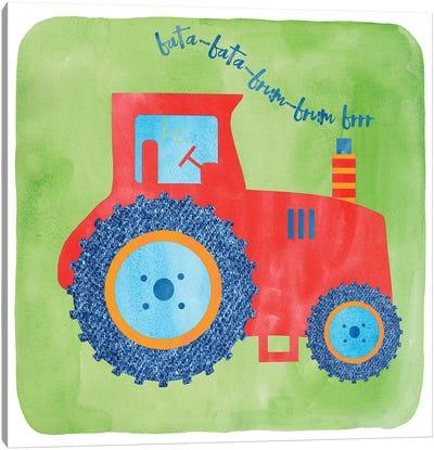 Tractor Canvas Art Print