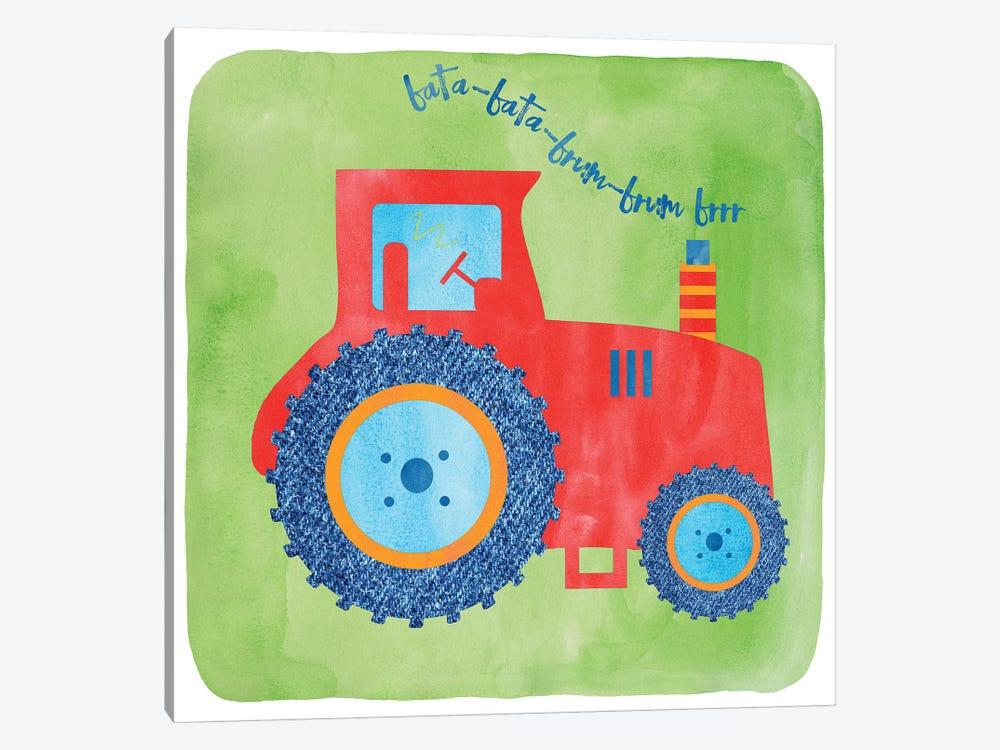 Tractor by Erin Clark 1-piece Canvas Artwork