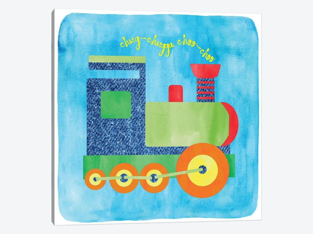 Train by Erin Clark 1-piece Art Print