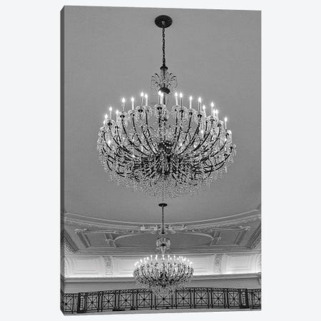 Chandeliers Canvas Print #ECK42} by Erin Clark Canvas Art