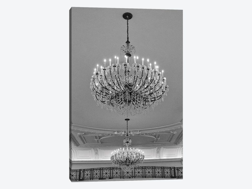 Chandeliers by Erin Clark 1-piece Canvas Print