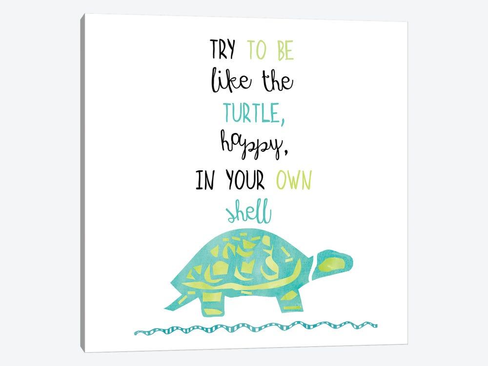 Turtle by Erin Clark 1-piece Canvas Art Print