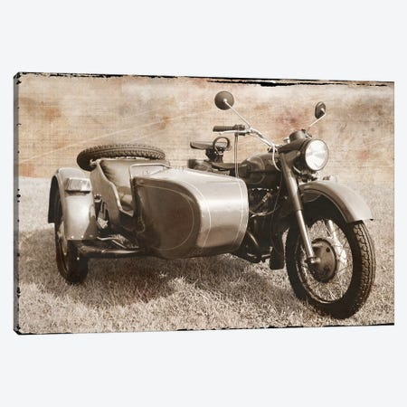 Ural Motorcycle I Canvas Print #ECK439} by Erin Clark Canvas Artwork