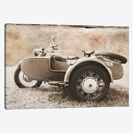 Ural Motorcycle II Canvas Print #ECK440} by Erin Clark Canvas Art Print