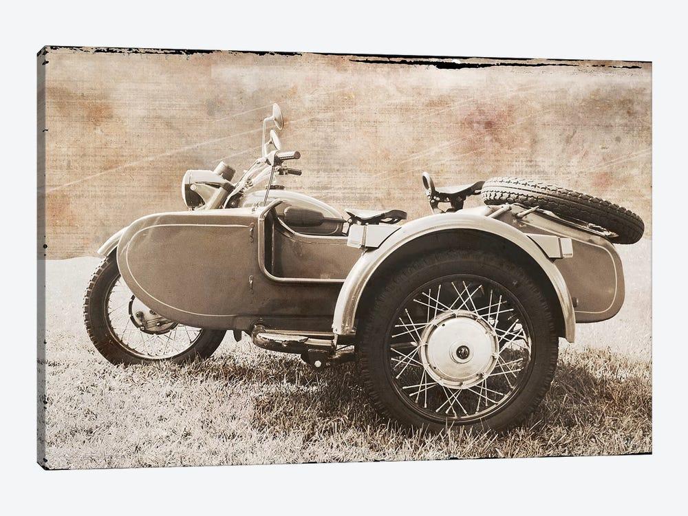 Ural Motorcycle II by Erin Clark 1-piece Canvas Wall Art