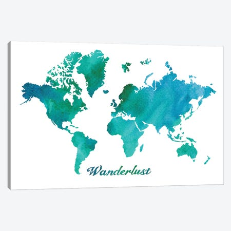 Wanderlust Canvas Print #ECK447} by Erin Clark Canvas Wall Art