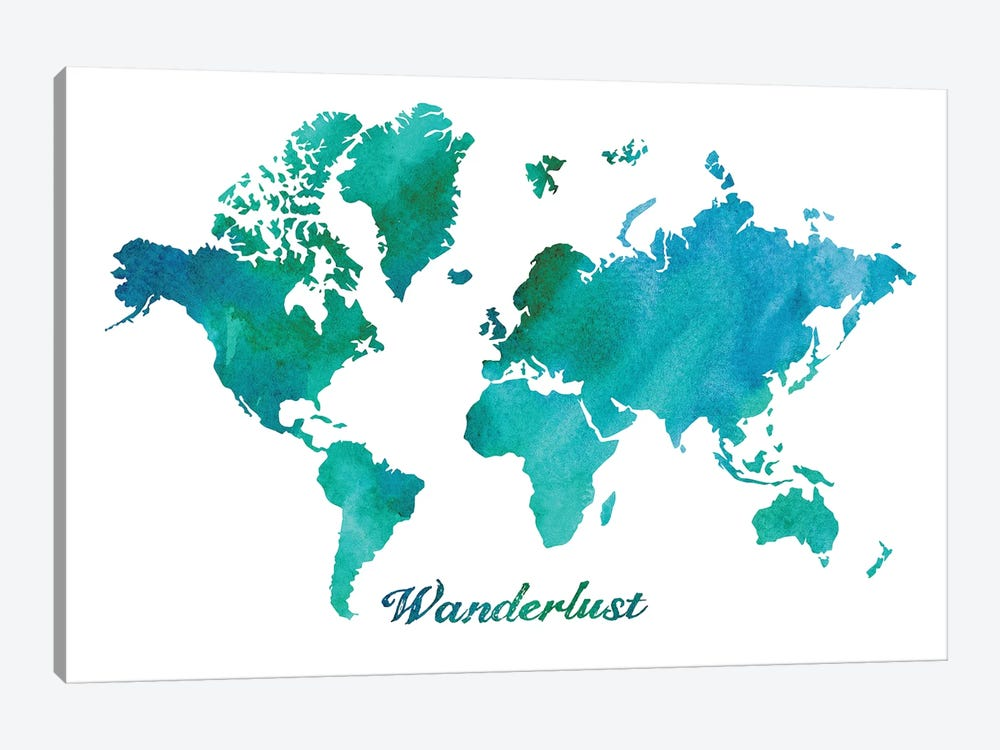 Wanderlust by Erin Clark 1-piece Art Print