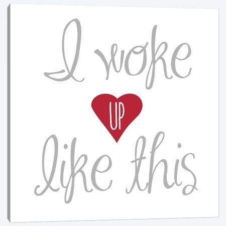 Woke Up Canvas Print #ECK471} by Erin Clark Canvas Wall Art