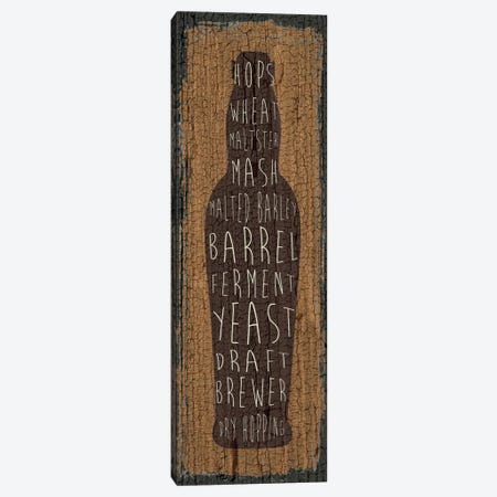 Craft Beer Sign IV Canvas Print #ECK48} by Erin Clark Canvas Wall Art