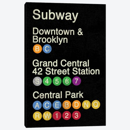 NYC Canvas Print #ECK4} by Erin Clark Canvas Wall Art