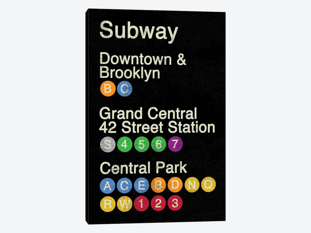 NYC by Erin Clark 1-piece Canvas Art