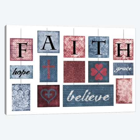 Faith Canvas Print #ECK55} by Erin Clark Canvas Art