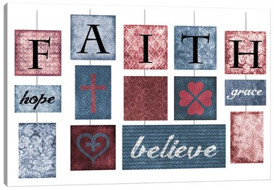 Faith Canvas Print #ECK55