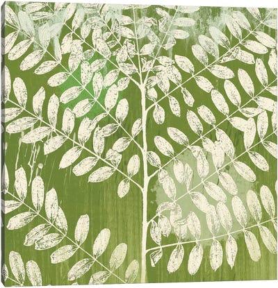 Jade Foliage Canvas Art Print