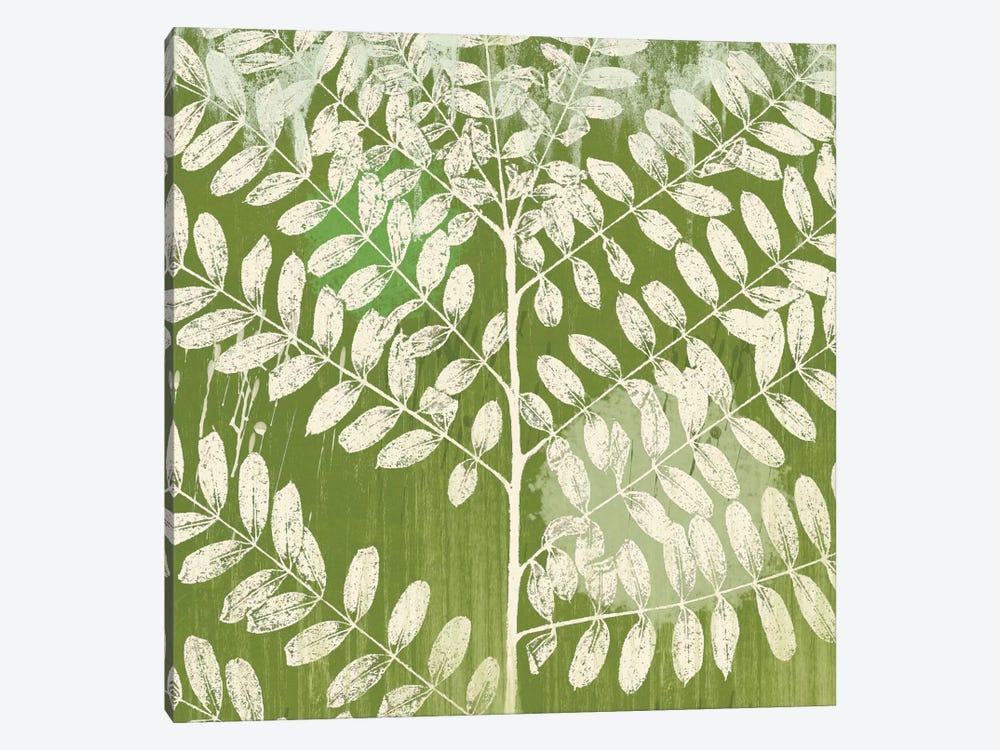 Jade Foliage by Erin Clark 1-piece Canvas Art Print