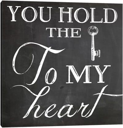 Key To My Heart Canvas Print #ECK67