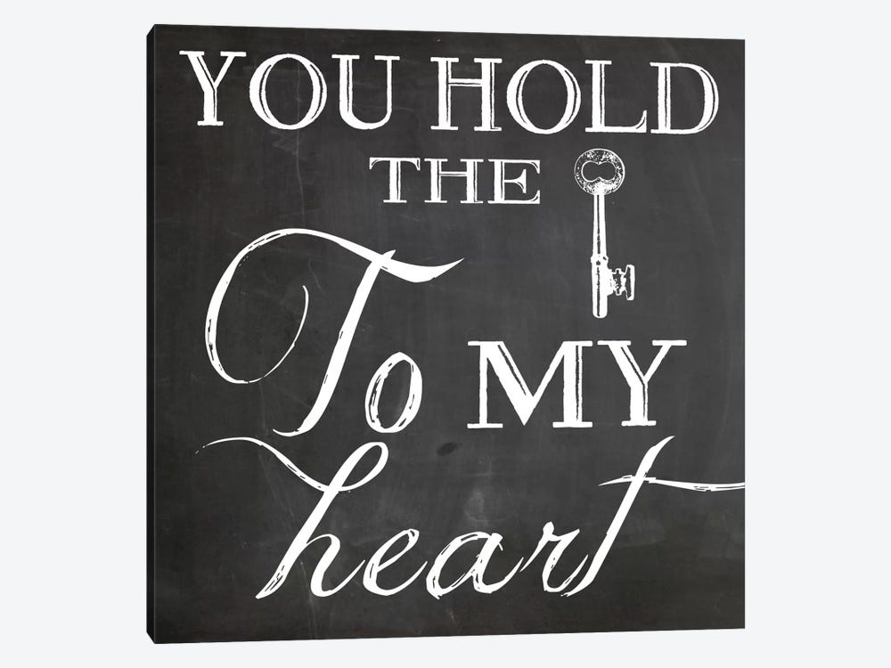 Key To My Heart by Erin Clark 1-piece Canvas Artwork