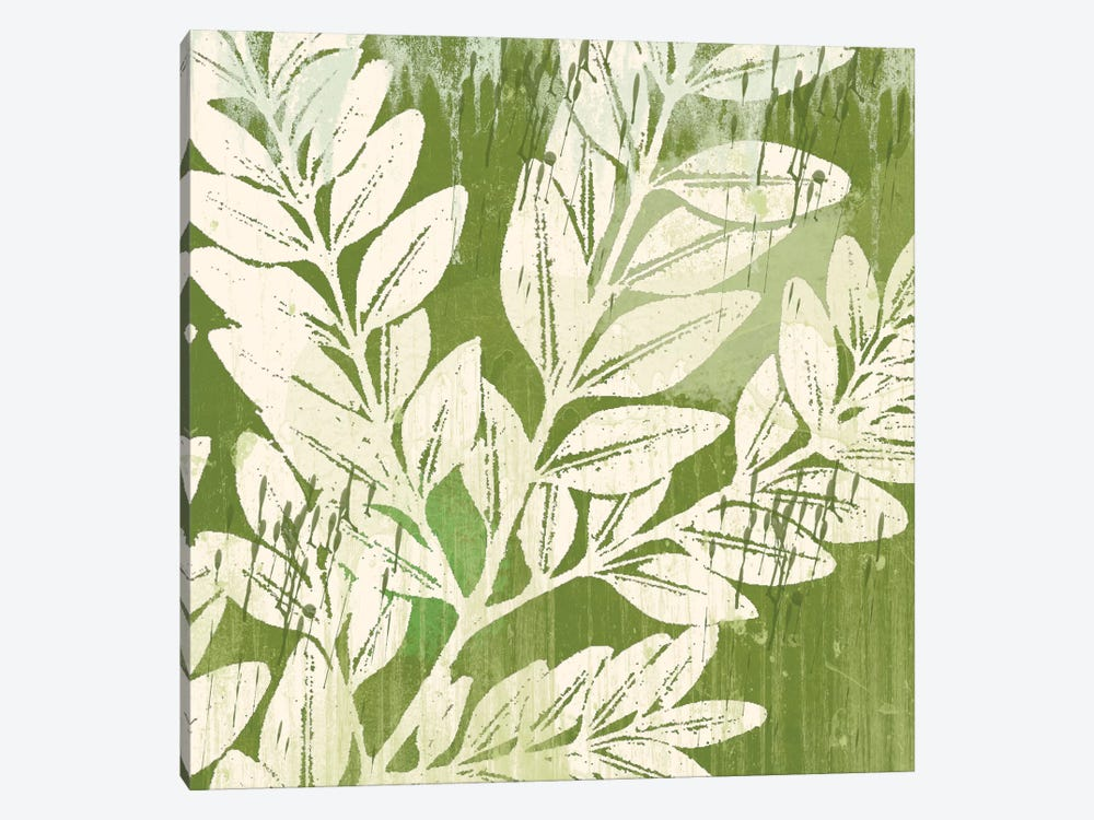 Sage Foliage by Erin Clark 1-piece Canvas Art Print