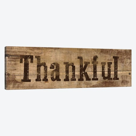 Thankful Canvas Print #ECK86} by Erin Clark Canvas Art Print