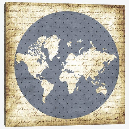 World Antique Canvas Print #ECK93} by Erin Clark Canvas Print