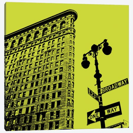 Acid Flatiron Canvas Print #ECK98} by Erin Clark Canvas Print