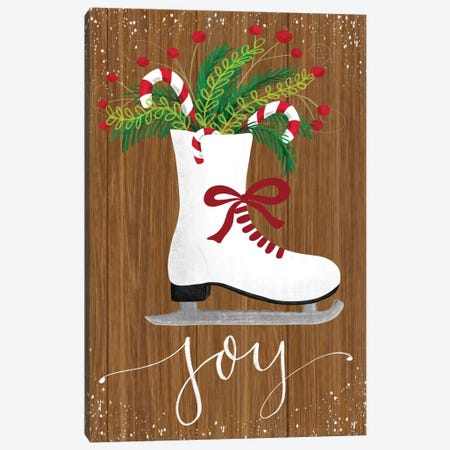 Rustic Holiday I Canvas Print #ECR10} by Emily Cromwell Canvas Artwork