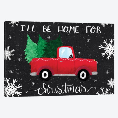 Rustic Holiday III Canvas Print #ECR12} by Emily Cromwell Canvas Art