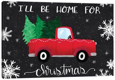 Rustic Holiday III Canvas Art Print
