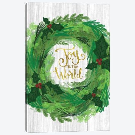 Peace On Earth II Canvas Print #ECR16} by Emily Cromwell Art Print
