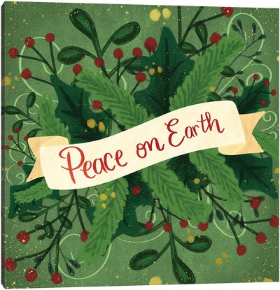 Peace On Earth III Canvas Art Print