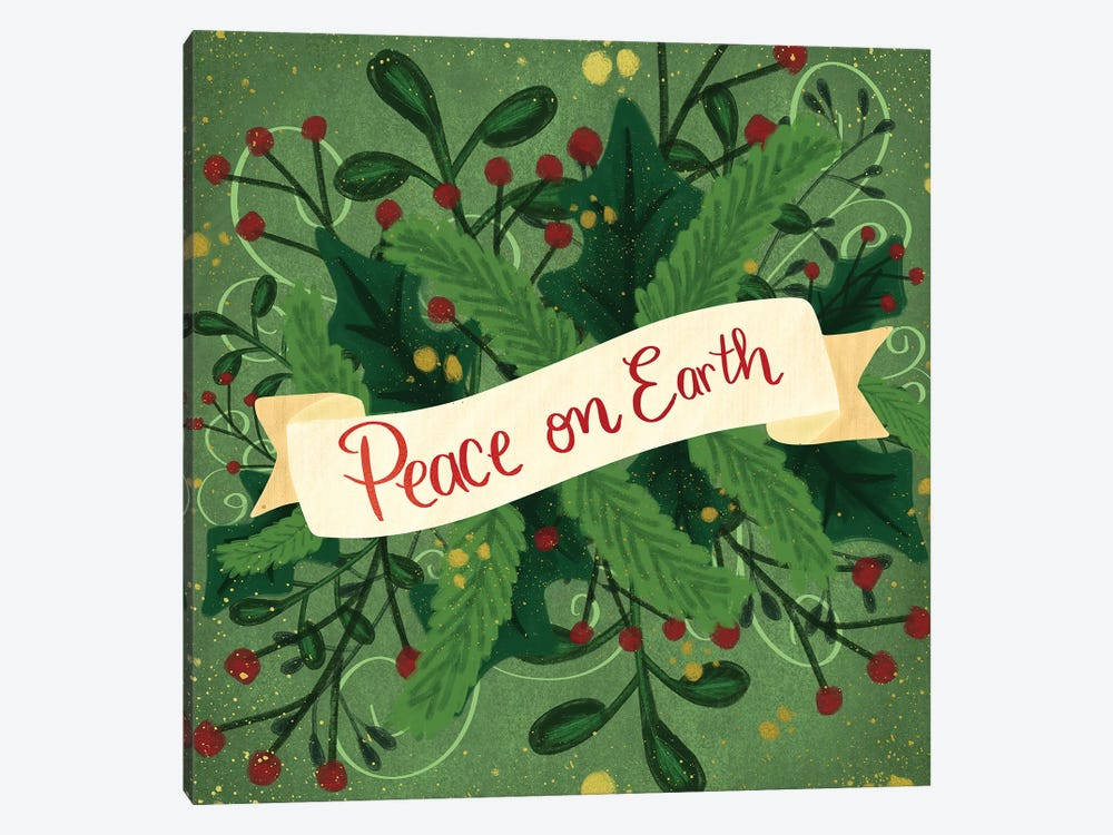 Peace On Earth III by Emily Cromwell 1-piece Canvas Art