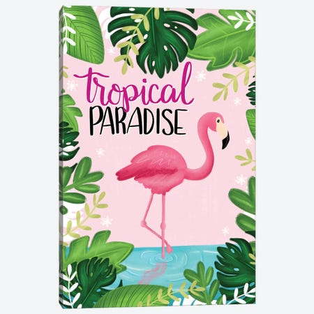Tropical Paradise I Canvas Print #ECR20} by Emily Cromwell Canvas Print