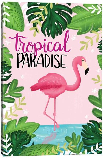 Tropical Paradise I Canvas Art Print