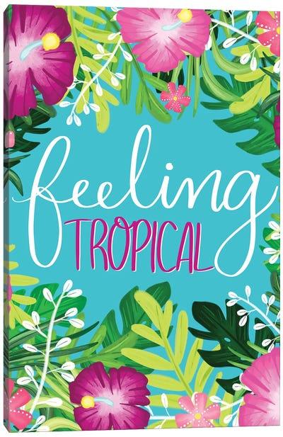 Tropical Paradise II Canvas Art Print