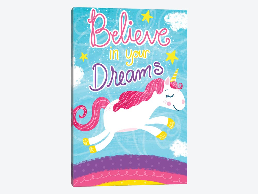 Unicorn Dreams 1-piece Canvas Print