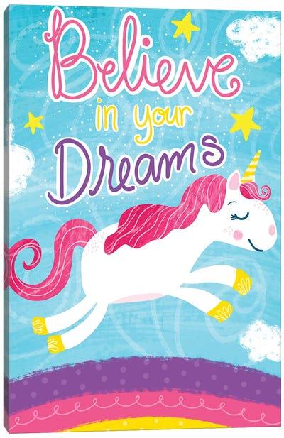 Unicorn Dreams Canvas Art Print