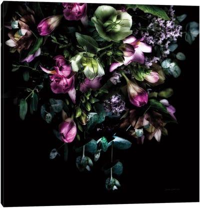 Hellebores Bouquet Canvas Art Print