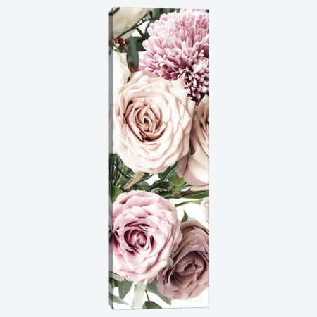 Pastel Bouquet Crop Canvas Print #ECT7} by Elise Catterall Canvas Wall Art