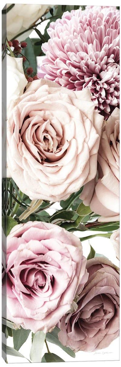 Pastel Bouquet Crop Canvas Art Print
