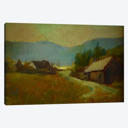 Early Evening Canvas Print #EDD13} by Eddie Barbini Art Print