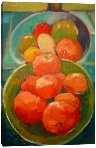 Fruit Bowls Canvas Print #EDD15