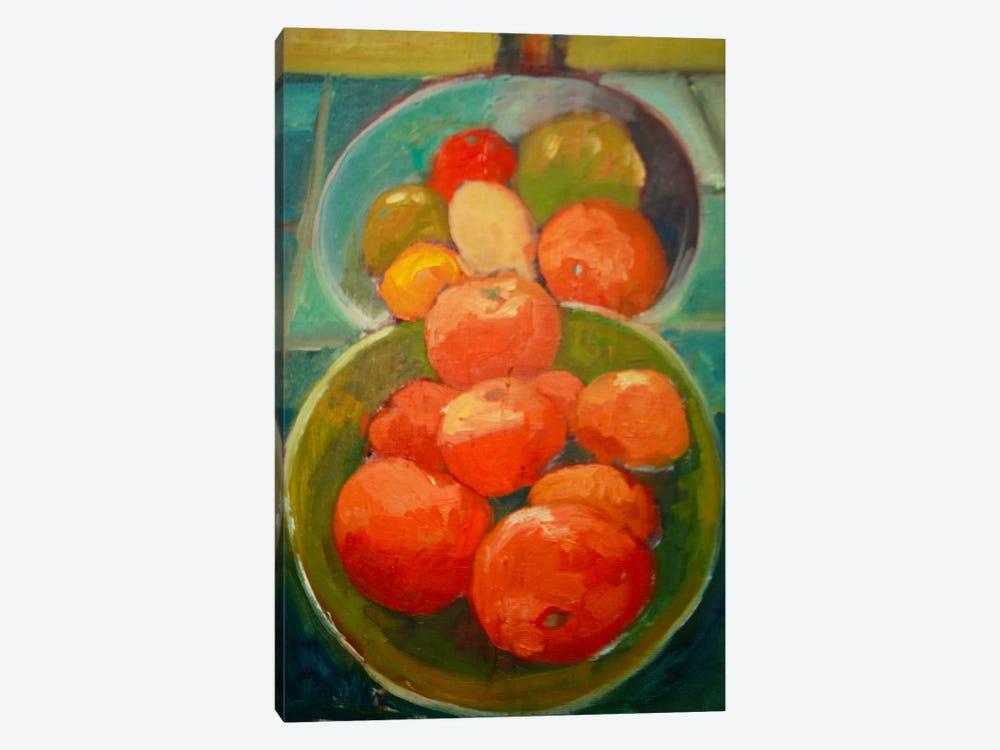 Fruit Bowls by Eddie Barbini 1-piece Canvas Print