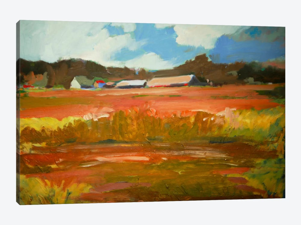 In The Fields by Eddie Barbini 1-piece Canvas Print