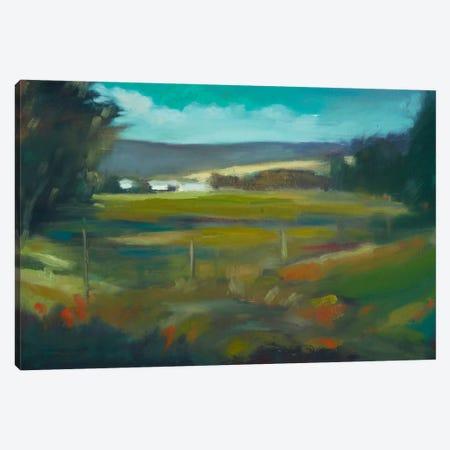 Across The Valley Canvas Print #EDD1} by Eddie Barbini Canvas Art Print