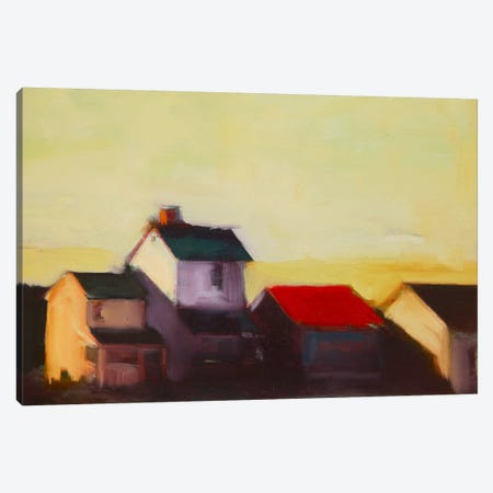 Late Afternoon I Canvas Print #EDD20} by Eddie Barbini Canvas Wall Art