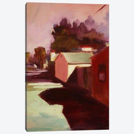 Late Afternoon II Canvas Print #EDD21} by Eddie Barbini Canvas Artwork